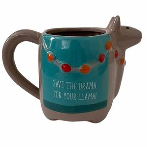 Llama Coffee Mug - Save The Drama For Your Llama